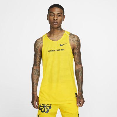 Ανδρικό φανελάκι με σχέδιο για τρέξιμο Nike Rise 365