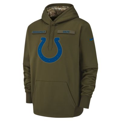 Nike Therma Salute to Service (NFL Colts) Big Kids' Hoodie