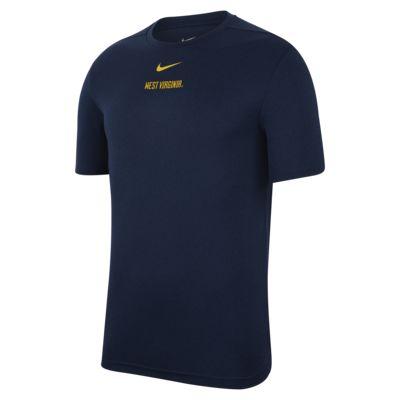 Nike College Dri-FIT Coach (West Virginia) Men's Short-Sleeve Top