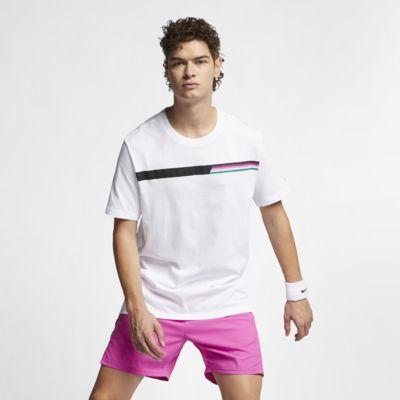 NikeCourt Camiseta de tenis con estampado - Hombre