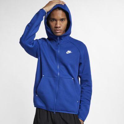 Hoodie com fecho completo Nike Sportswear Tech Fleece para homem