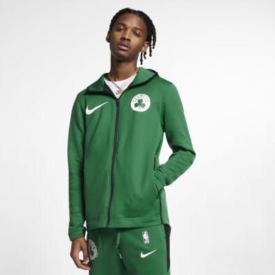 Boston Celtics Nike Therma Flex Showtime Dessuadora amb caputxa de l'NBA - Home