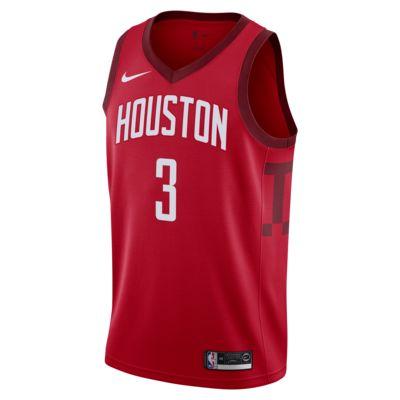 Maillot connecté Nike NBA Chris Paul Earned Statement Edition Swingman (Houston Rockets) pour Homme