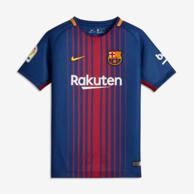 Купить Футбольное джерси для школьников 2017/18 FC Barcelona Home