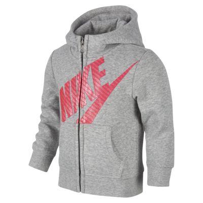 Nike Sportswear Hoodie mit durchgehendem Reißverschluss für jüngere Kinder (Jungen)