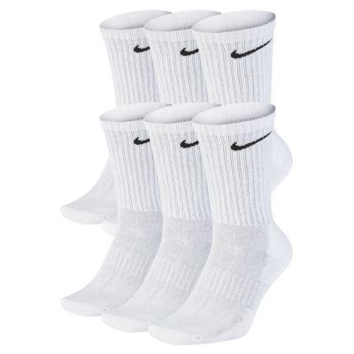 Středně vysoké tréninkové ponožky Nike Everyday Cushioned (6 párů)