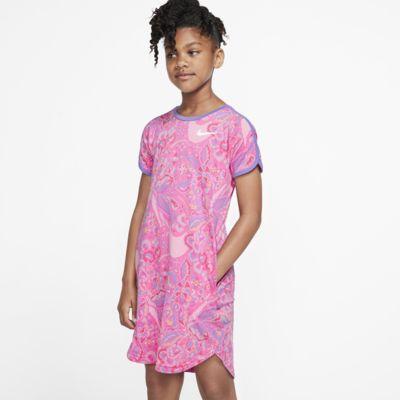 Nike Sportswear Swoosh-kjole til piger