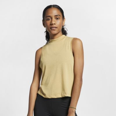 Nike Dri-FIT Women's Cropped Yoga Training Top
