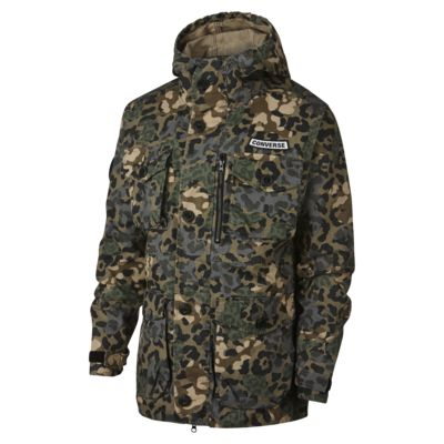 Converse Printed Cotton Utility Men's Jacket