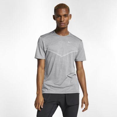 เสื้อวิ่งแขนสั้นผู้ชาย Nike TechKnit Ultra