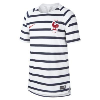 Ποδοσφαιρική μπλούζα FFF Dri-FIT Squad για μεγάλα παιδιά