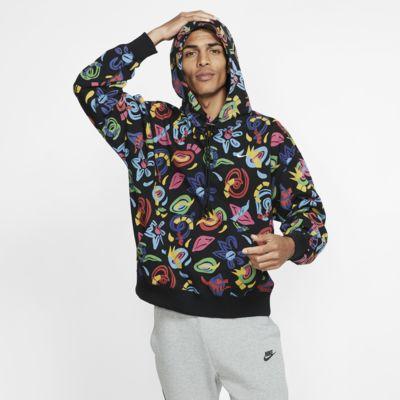 Felpa stampata con cappuccio NikeLab Collection - Uomo