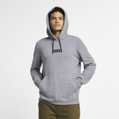 Hoodie pullover de lã cardada Hurley Crone One And Only para homem