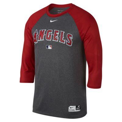 Nike Legend Raglan (MLB Angels) Men's 3/4 Sleeve Top