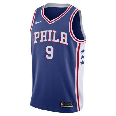 Maglia Nike NBA Connected Dario Šaric Icon Edition Swingman (Philadelphia 76ers) - Uomo