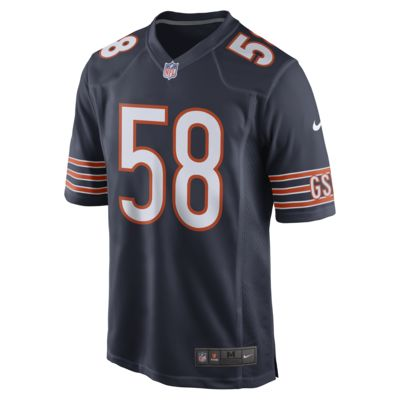 NFL Chicago Bears Men's Game Football Jersey