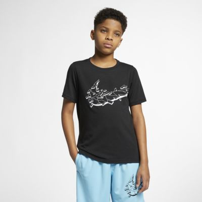 Κοντομάνικη μπλούζα προπόνησης Nike Breathe για μεγάλα αγόρια