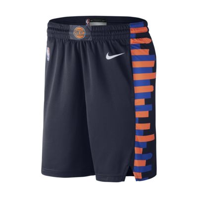 New York Knicks City Edition Swingman Men's Nike NBA Shorts