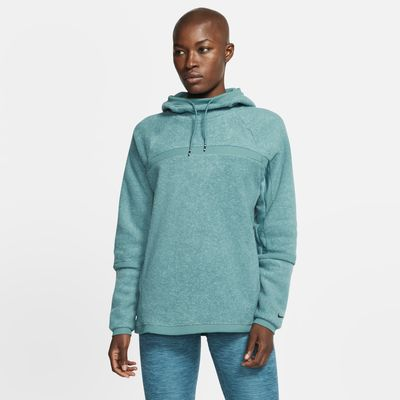 Nike Therma Women's Fleece Long-Sleeve Training Hoodie