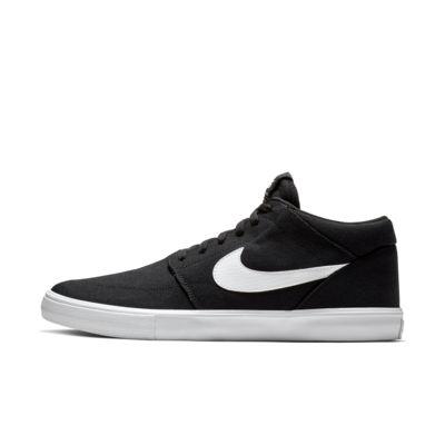 Nike SB Portmore II SLR M CNVS男/女滑板鞋