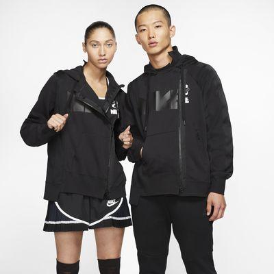 Μπλούζα με κουκούλα και διπλό φερμουάρ Nike x Sacai