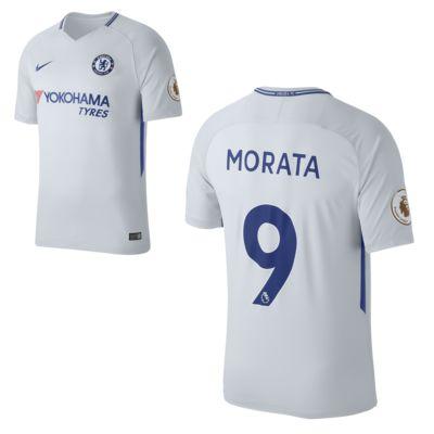 2017/18 Chelsea FC Stadium Away (Alvaro Morata) Herren-Fußballtrikot