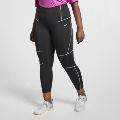 Nike treningstights til dame (store størrelser)