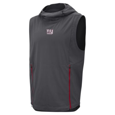 Nike Shield Fly Rush (NFL Giants) Men's Hooded Pullover Vest