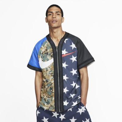 Camisola de basebol NikeLab Collection para homem