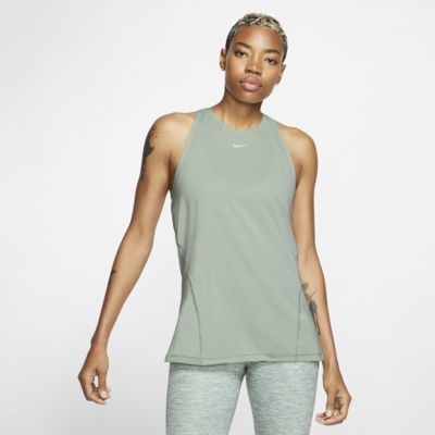 Camisola de malha sem mangas Nike Pro para mulher