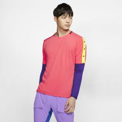 Nike Camiseta de running de manga larga - Hombre