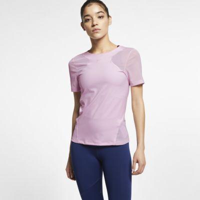Haut à manches courtes Nike Pro HyperCool pour Femme