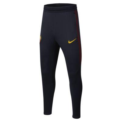 Fotbalové kalhoty Nike Dri-FIT A.S. Roma Strike pro větší děti