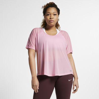 Nike Breathe Miler Samarreta de running (talles grans) - Dona