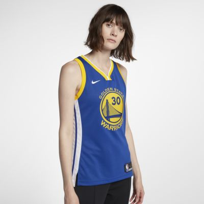 Stephen Curry Icon Edition Swingman (Golden State Warriors)-Nike NBA Connected-trøje til kvinder