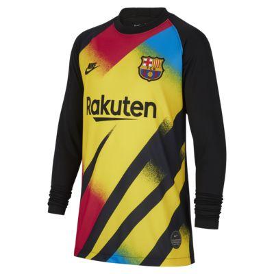 Fotbollströja FC Barcelona 2019/20 Stadium Goalkeeper för ungdom