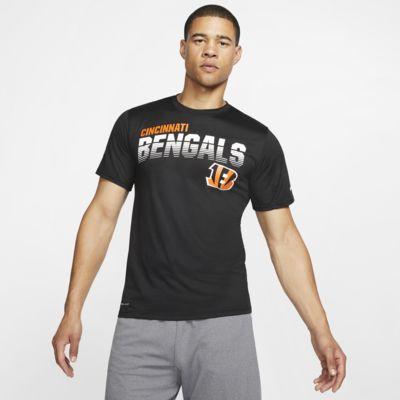 T-shirt a manica lunga Nike Legend (NFL Bengals) - Uomo