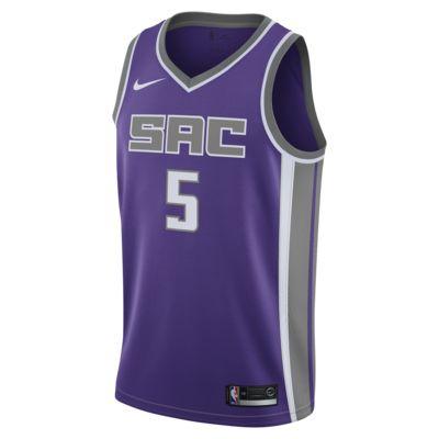 De'aaron Fox Icon Edition Swingman (Sacramento Kings) Camiseta Nike NBA Connected - Hombre