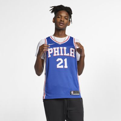 Joel Embiid Icon Edition Swingman (Philadelphia 76ers) Nike NBA Connected Trikot für Herren
