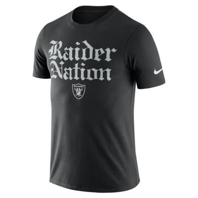 Nike Dri-FIT (NFL Raiders) Big Kids' T-Shirt