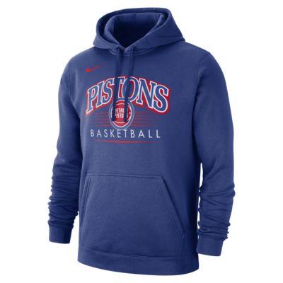 Detroit Pistons Nike NBA Erkek Kapüşonlu Üst