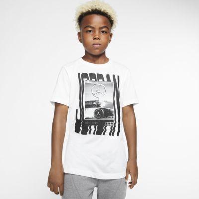 Kortärmad t-shirt Jordan Jumpman för ungdom (killar)