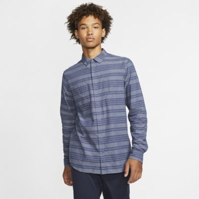 Hurley Armstrong Men's Long-Sleeve Woven Top