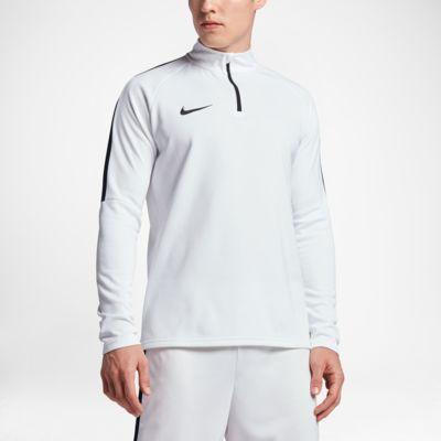 Купить Мужская футболка для футбольного тренинга с молнией 1/4 Nike Dri-FIT Academy