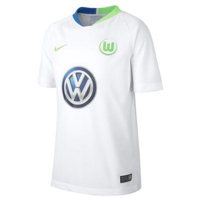 Fotbollströja 2018/19 VfL Wolfsburg Stadium Away för ungdom
