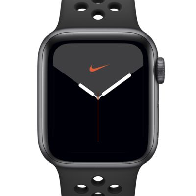 Apple Watch Nike Series 5 (GPS) with Nike Sport Band 40mm Space Gray Aluminum Case