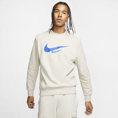 Tröja med rund hals och Swoosh Nike Sportswear för män