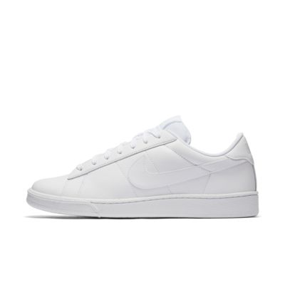 nike tennis shoes leather