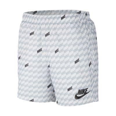Męskie spodenki z dzianiny z nadrukiem Nike Sportswear