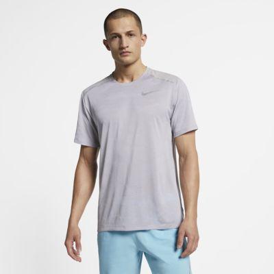 Ανδρική κοντομάνικη μπλούζα για τρέξιμο Nike TechKnit